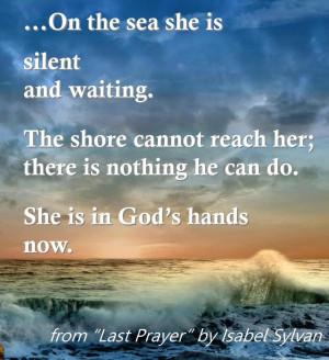 In God's Hands...