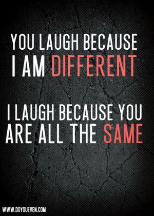 Am Different!