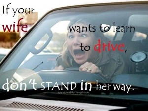 Funny Quotes About Woman Driving
