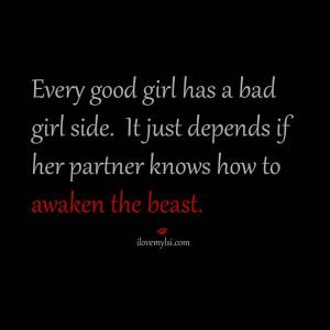 Good Girl Bad Girl Quotes