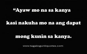 Sad Break Up Quotes Tagalog