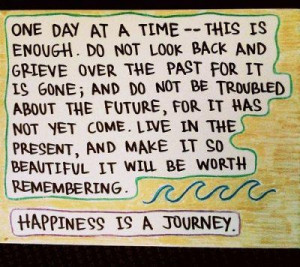 Happiness! » quote – one day at a time