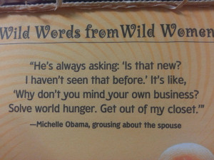 Michelle Obama On Life With Barack