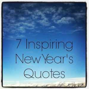 Inspiring Quotes for Celebrating the New Year