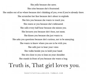 aww, girls, love, quote