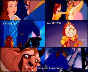 beauty and the beast belle quotes disney classics