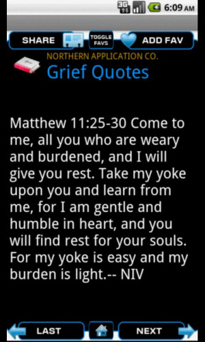 Bible Quotes for Grief - screenshot