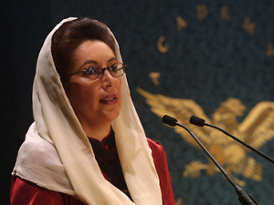 Benazir Bhutto 2002, Former Prime Minister of Pakistan - Podcast ...