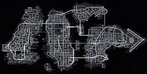 GTA 4 Map Police Station