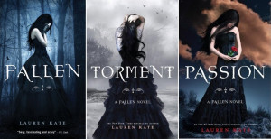 Next up, the Fallen series by Lauren Kate.