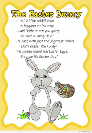 Easter Bunny Marks All Bunnies - http://myquoteshome.com/easter-bunny ...