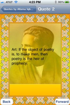 Allama Iqbal English Quotes