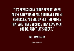 Group Effort Quotes