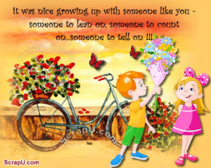 brother and sister relationship quotes