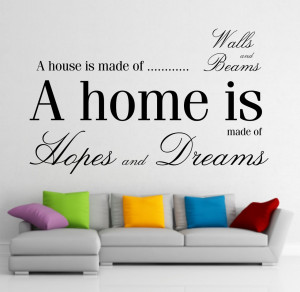 Cool Wall Art Quotes Of quote vinyl wall art