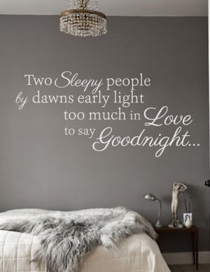 Dean Martin / Classic Love Song Quote / Goodnight by WallAffection, £ ...