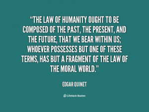 Humanity Quote...