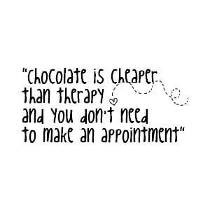 Chocolate Quotes Pink Break...
