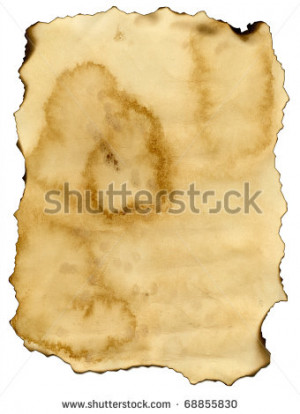 Burned Paper...
