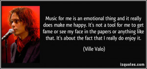 More Ville Valo Quotes