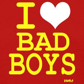 Design ~ I Heart Bad Boys Shirt