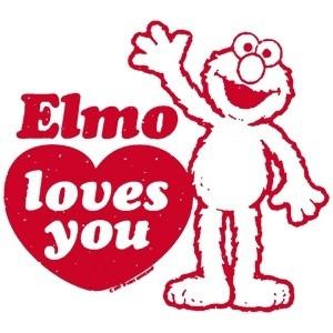 Elmo Elmo Loves You!