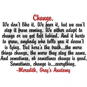 We either adapt to change or get left behind.