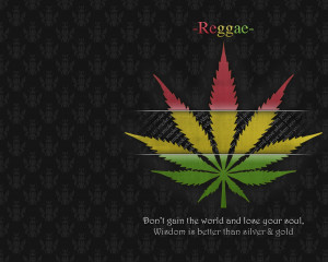Leaf Quotes Wallpaper 1280x1024 Leaf, Quotes, Marijuana, Rasta, Reggae ...