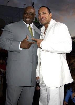 Michael Clarke Duncan - dwayne-the-rock-johnson Photo