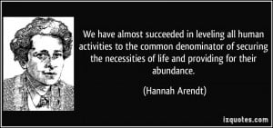 More Hannah Arendt Quotes