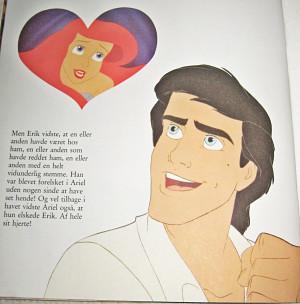 Princess Ariel Little Mermaid Book