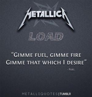 Fuel-Metallica