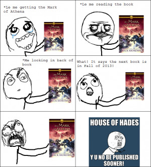 Percy Jackson & The Olympians Books The Rage of the House of Hades
