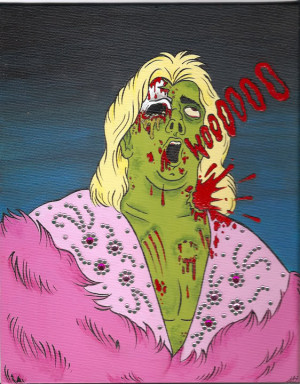Ric Flair whoppin ass as a zombie...wooooooooooo