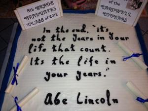 8th Grade Graduation Quotes Sayings ~ 8th grade graduation class Motto ...