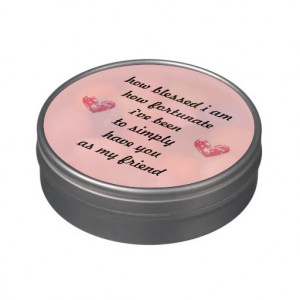 Thankful Friendship Jelly Bean Gift Jelly Belly Tins