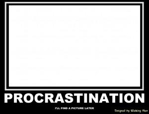 beat procrastination and finish your work