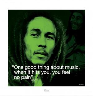 Art Print Bob Marley - One