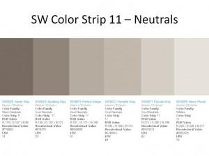 Gray SW 6075 Spalding Gray SW 6074 Perfect Greige 6073 Versitile Gray ...