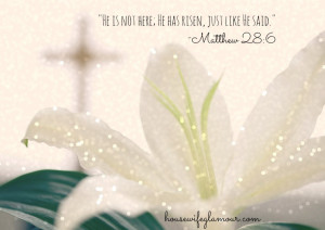 Easter Bible Verses Quotes