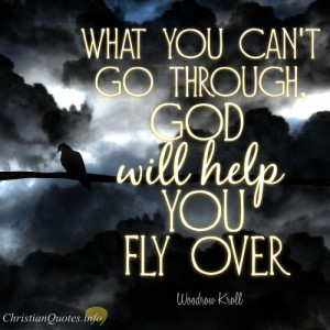 Woodrow Kroll Quote – 3 Ways That God Helps Us In The Storms