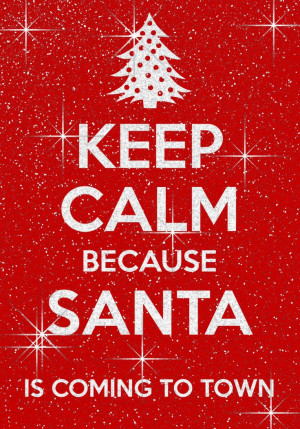 It's almost Christmas woohoo.... Santa Claus is coming to ... | Quotes