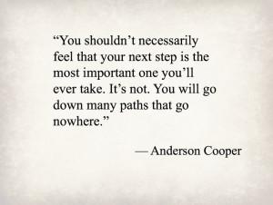 Anderson Cooper, news reporter