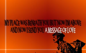 Mailman - Soundgarden Song Lyric Quote in Text Image