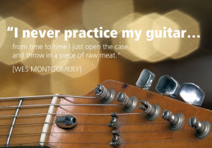 Guitar Quotes Quote by wes montgomery,