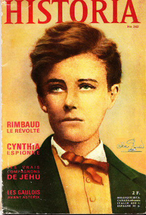 portrait arthur rimbaud marie france riviere arthur rimbaud poetry ...