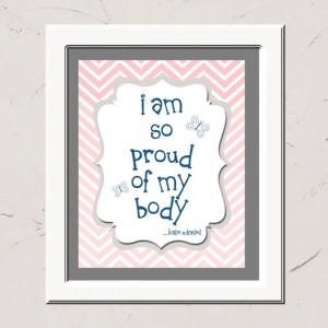 am so proud of my body by Kate Winslet, Positive Quote ...