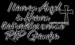 All Graphics » GRANDPA IS MY ANGEL