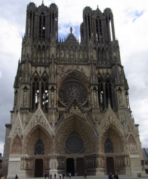 Reims Cathedral Amazing details carved