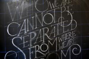 Guerrilla Designers Create Elaborate Quote Art on Chalkboards 8
